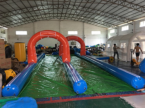 New Design Inflatable Water Park City Slide Giant Inflatable Water Giant Water Slide Set City Slide