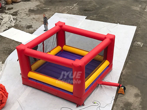 Inflatable Boxing Arena With Oversized Boxing Gloves And Helmets, Giant Inflatable Boxing Ring