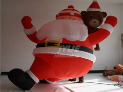 Customized Christmas Decoration Giant Inflatable Santa Claus