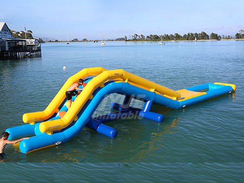 0.9mm PVC Tarpaulin Motorized Inflatable Water Sports Products Water Sports Equipment
