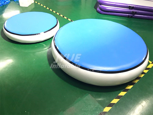 Air Spot Inflatable Tumbling Circle Round Air Track Mat For Gymnastics
