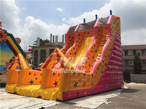 Factory Direct Commercial Yellow Inflatable Slide Price Cheap Sale