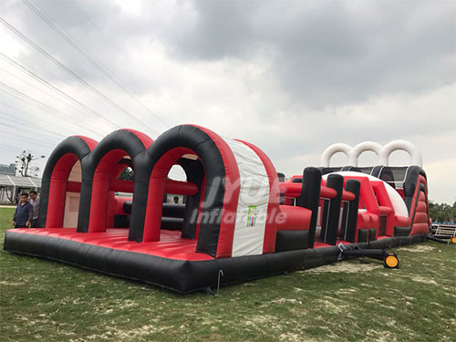 Kids Playground Inflatable Combo Sport Inflatable Obstacle Course