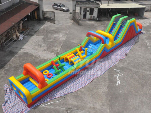 Commercial Adults Playground Inflatable Obstacle Course For Kids