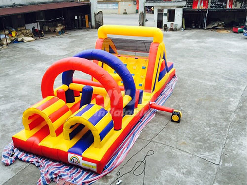 Indoor And Outdoor Obstacle Playground Kids Obstacle Course For Play
