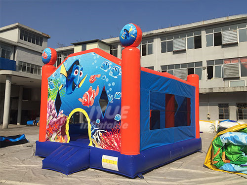 Affordable Inflatable Rentals Nemo Fish Party Bounce House For Sale