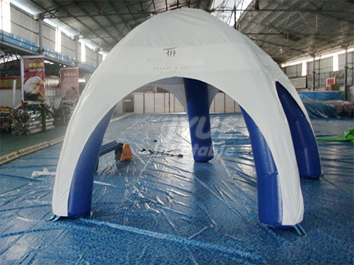 6m Portable Inflatable Planetarium Tent Inflatable Spider Customized Tent
