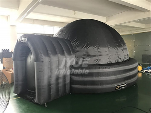Astronomy Dome Tent Solar System Fireproof Inflatable Projector Tent