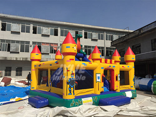 New Kids Indoor Amusement Theme Park Children Giant Play Inflatable Playground Price