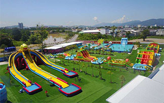 Inflatable Water Park Project