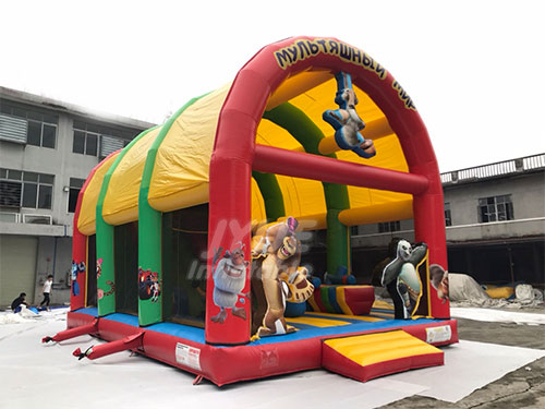 Kids Bounce House Places Indoor Inflatable Play Center For Kids