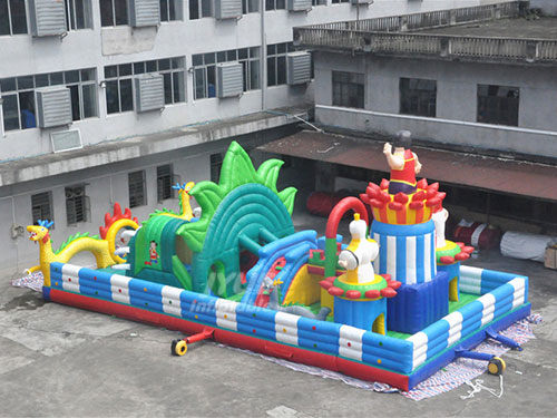 Children's Jump House Bounce Indoor Inflatable Park For Sale