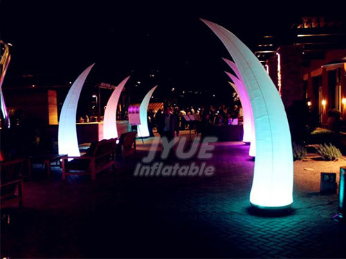 Inflatable Columns LED For Party Decoration PVC Advertising Pillar