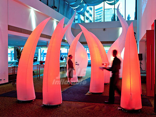 Promotion Tube LED Wedding Decoration Inflatable Pillars Column