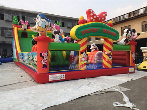 Blow Up Play Place Inflatable Bounce Outdoor Playground Equipment Rental