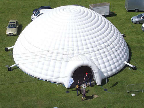 Giant Sewed Inflatable Tent Size 15x15x7mhCan Customized