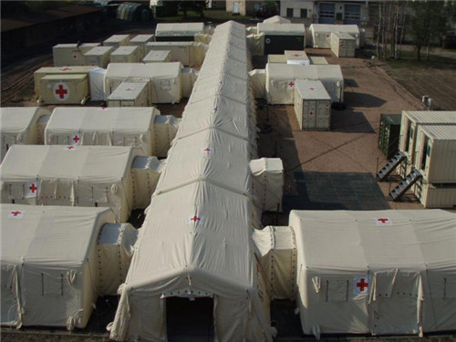 Outdoor Large Portable Temporary Inflatable Hospital Tent