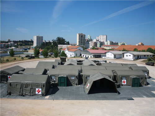 Custom Size Outdoor Inflatable Medical Tent With Adjustable Door For Civil And Military Aviation
