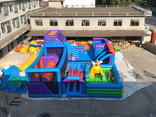 Factory Price Durable Funny Children Adults Large Indoor Inflatable Playground Theme Park Center