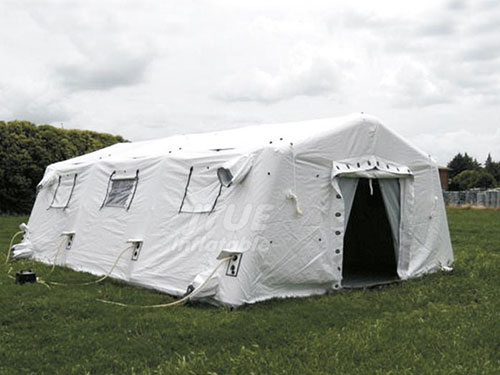 Custom Inflatable Medical Tents Outdoor Hospital Disinfection Tent Quick Assembly Emergency Cleaning Tent