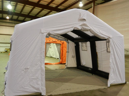 Negative Pressure Tent Covid Disinfecting Channel